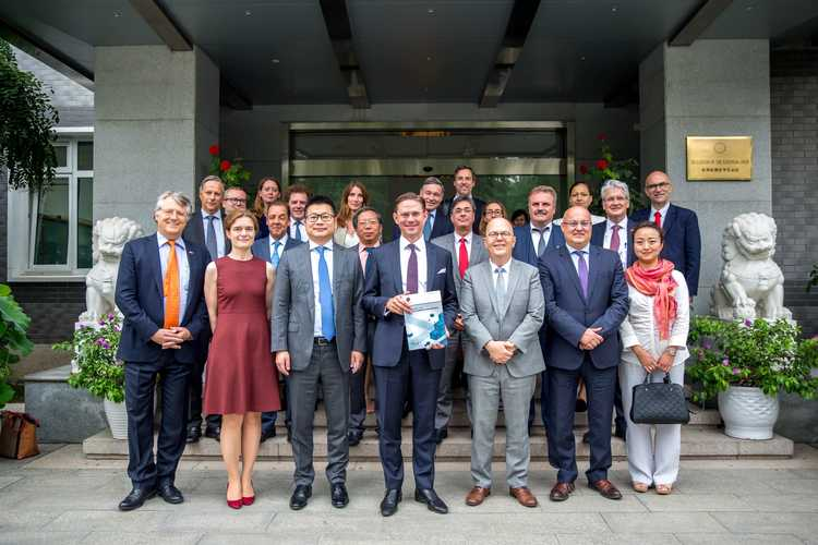Chamber Briefed on 7th EU-China HED by Commission Vice President Katainen